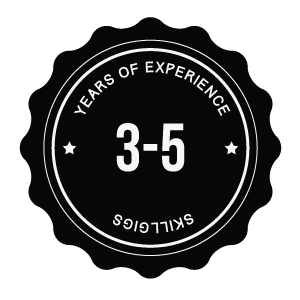 Years of Experience - 3 to 5 years